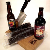 Beer, Biltong & Slicer Gift Set
