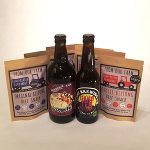 Beer & Sliced Biltong Gift Set