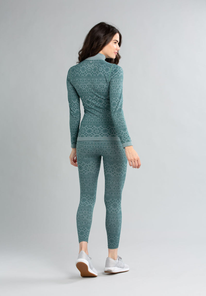 Powderline Seamless Mock-Neck Top - LIV Outdoor