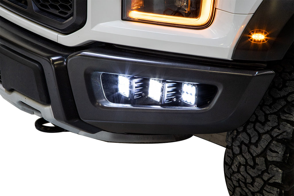 2017-2020 Ford Raptor LED Fog Light Kit