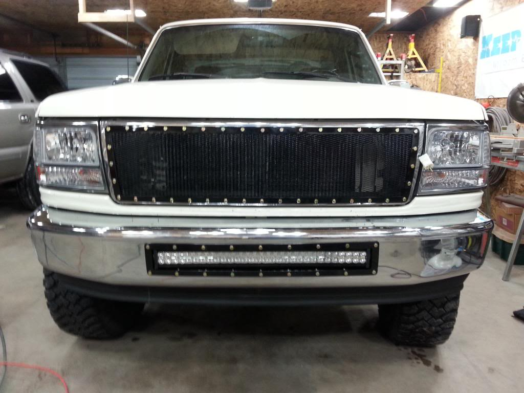 "32"" Straight LED light bar (180 watt)"