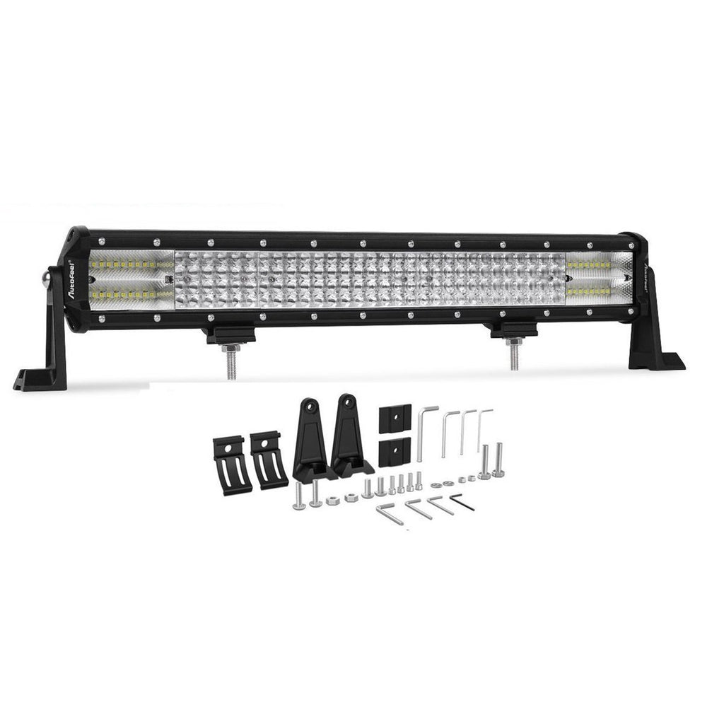 "23"" (360 Watt) 8D White/Amber Light Bar"