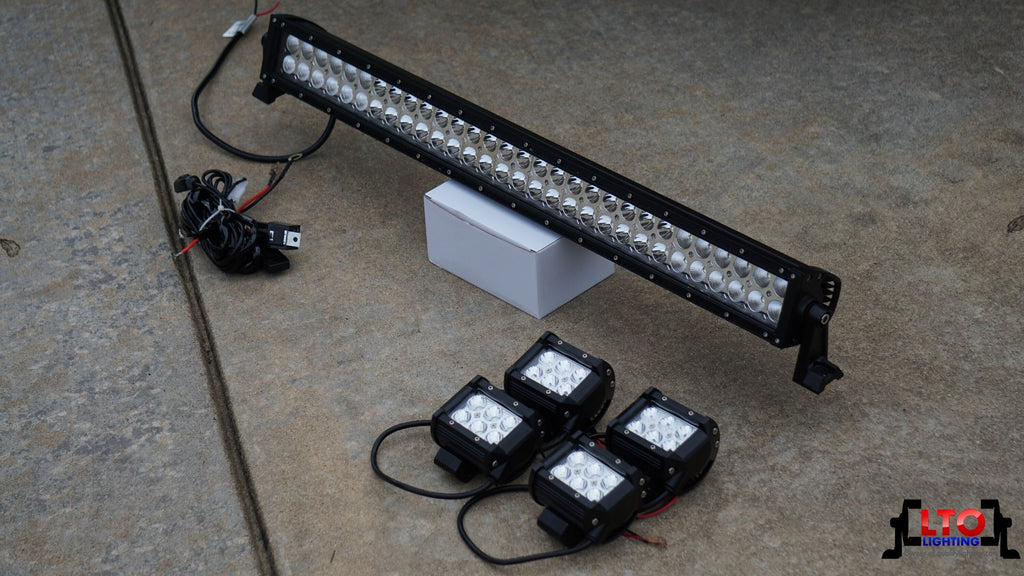 "32"" Light Bar + (4) 4"" Pods"