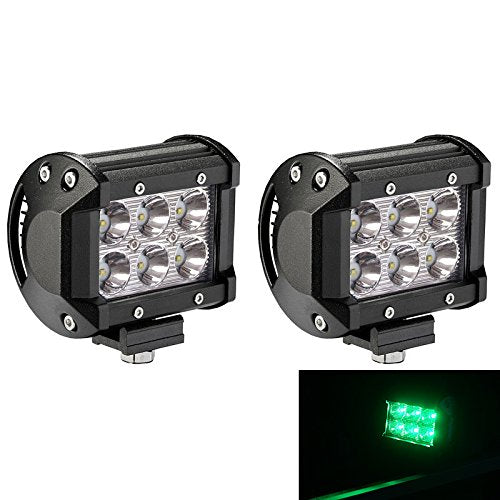 "(2) 4"" LED Pods (GREEN)"