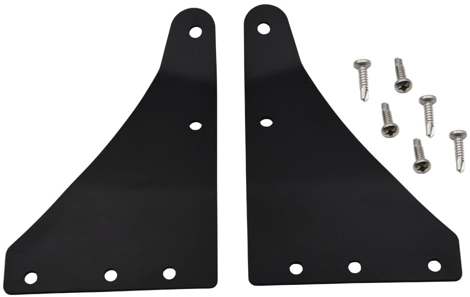 "Hummer H3 2006-2010 Upper Windshield Brackets (52"" Curved/Straight)"