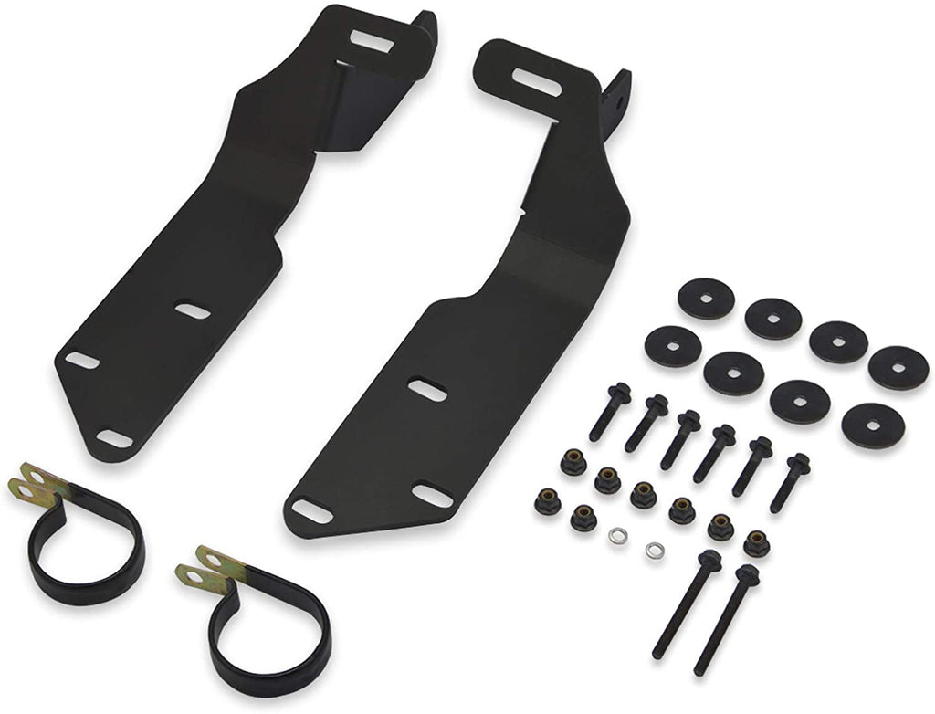 "Kawasaki Teryx Front Cage Upper Windshield Brackets ONLY (50"" Curved or Straight)"