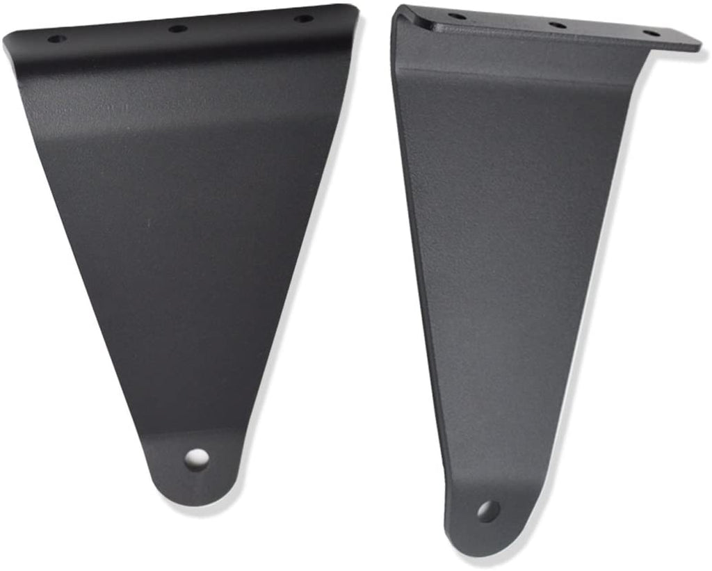 "Polaris Ranger Upper Windshield Mounting Brackets (50"" Curved) (Bracket Only)"