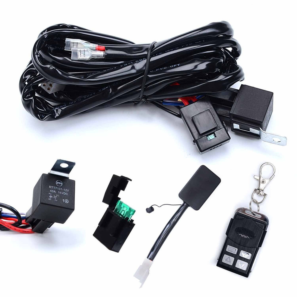 Remote Controlled Wiring Harness w/Strobe