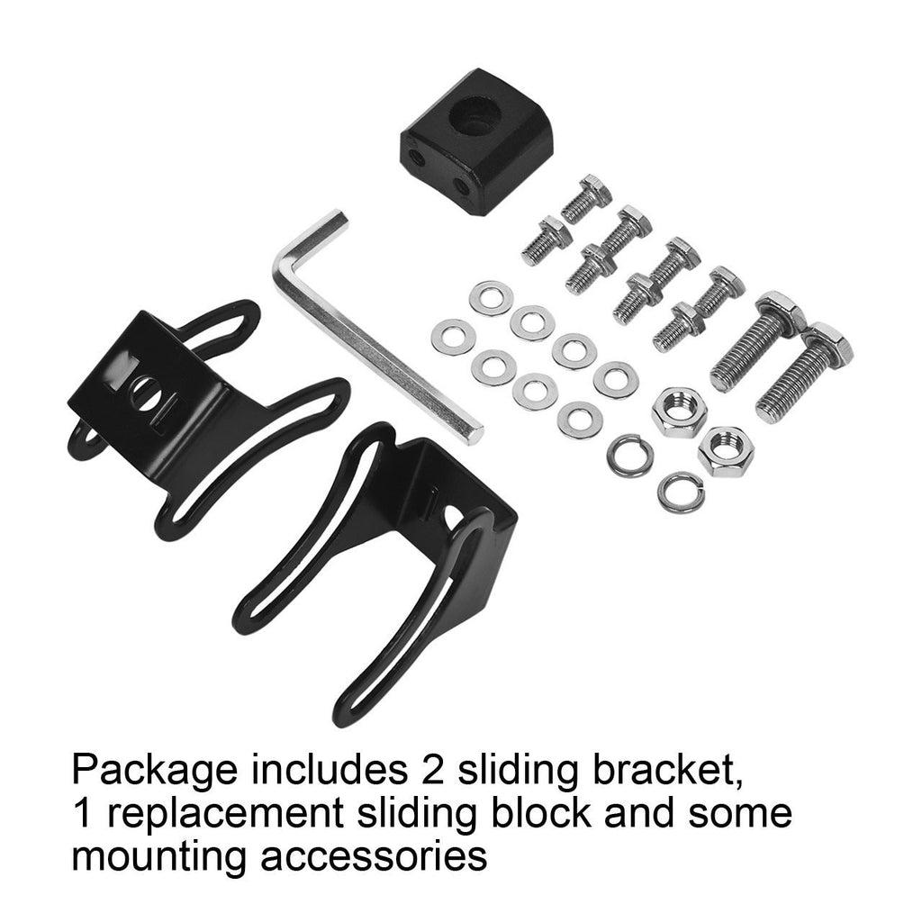 2 Pack Brackets kits for (Bottom Mount Light Bars)