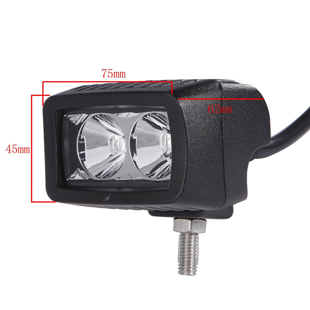 10W Light Bar 5D 1000LM Led Work Light