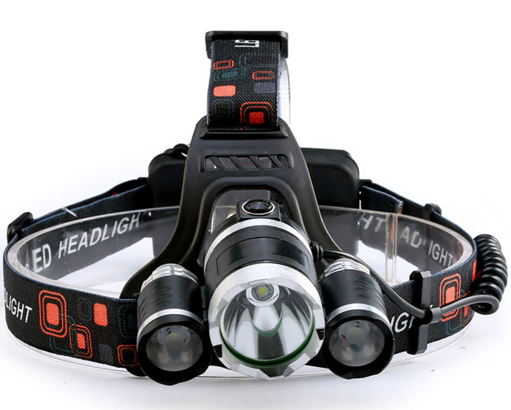 LED Headlamp (Rechargeable)