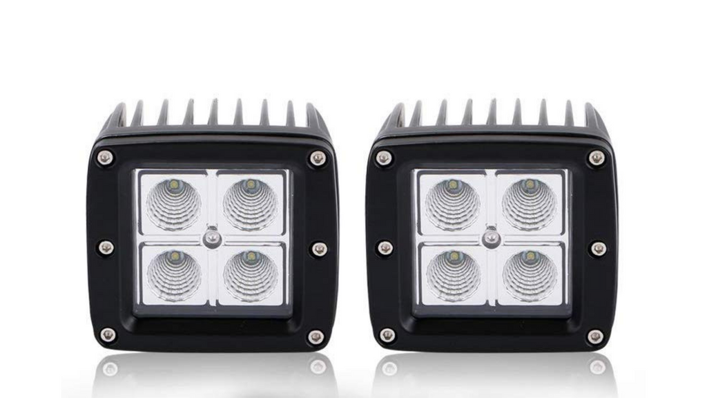 "(2) 3"" LED Cube Lights (16 watt)"
