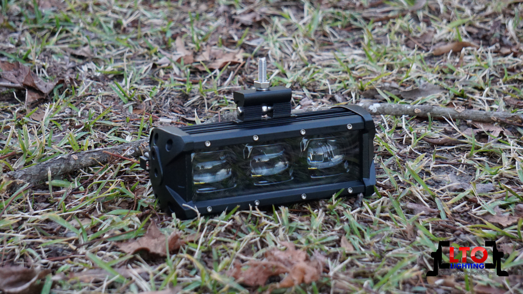 "6D | 8"" Single Row LED Light Bar (30W)"