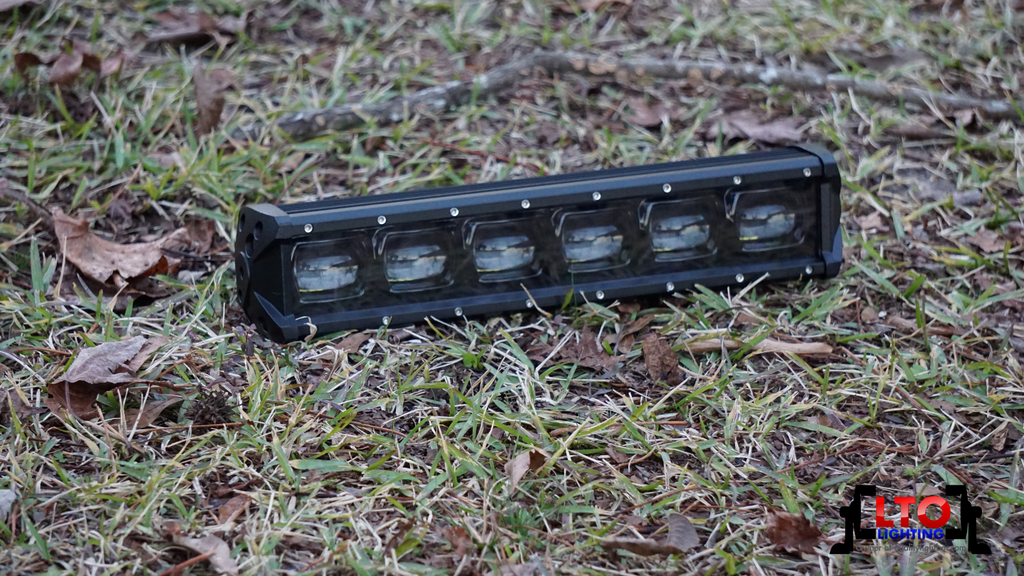 "6D | 14"" Single Row LED Light Bar (60W)"