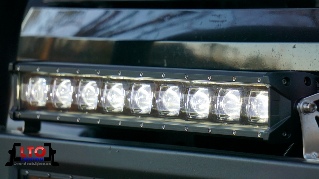 "6D | 20"" Single Row LED Light Bar (90W)"