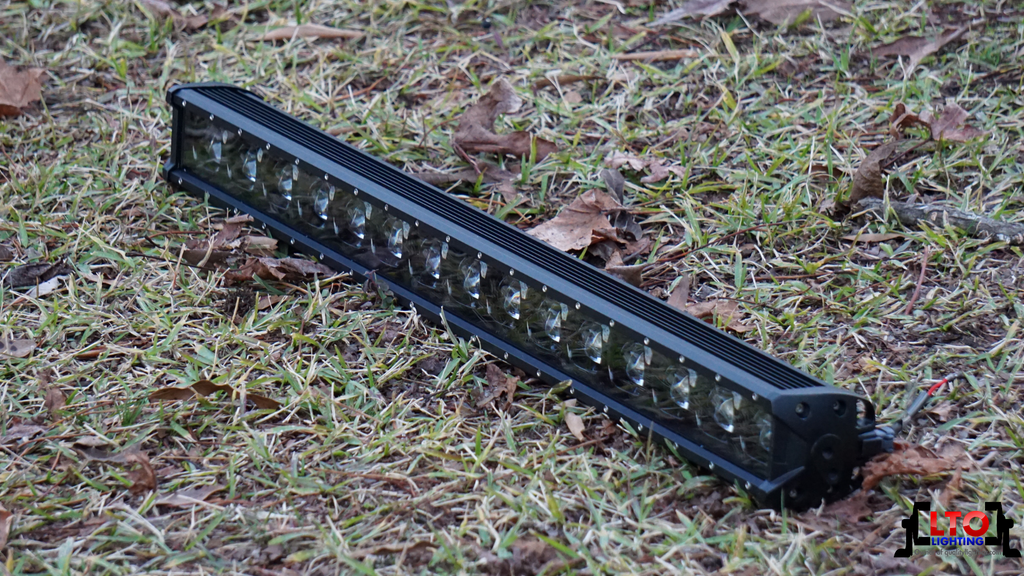 "6D | 27"" Single Row LED Light Bar"