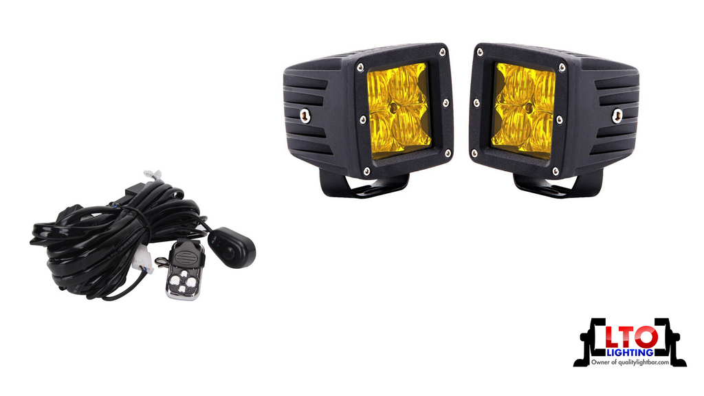 High Output (Amber) Flood Lights