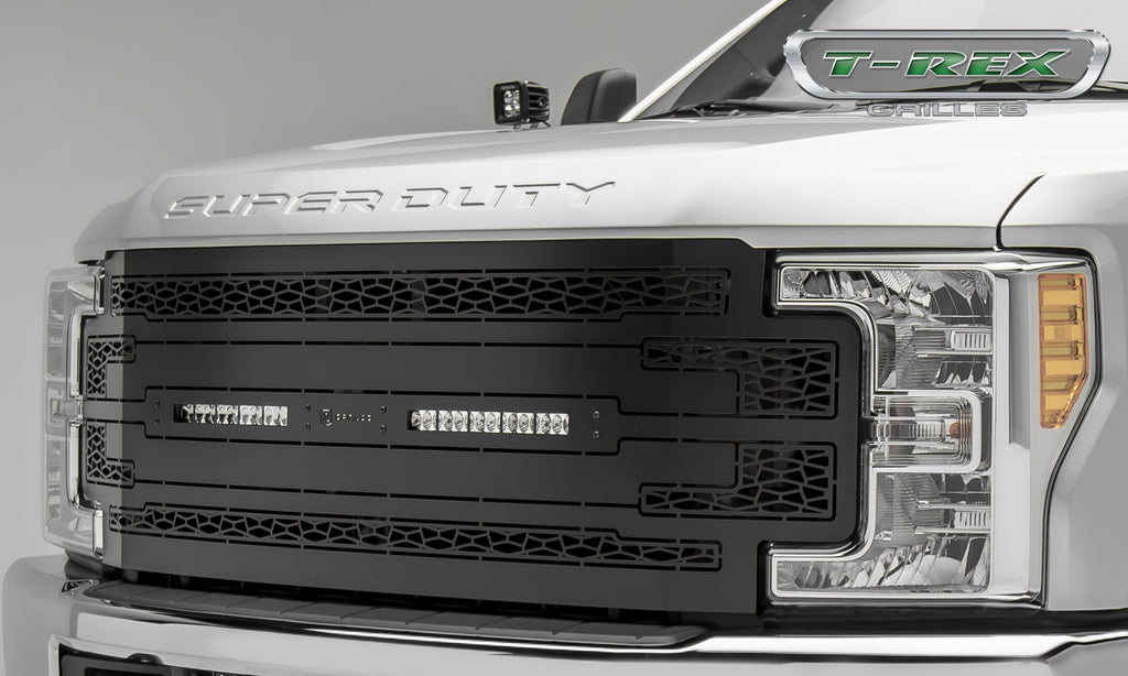 "ZROADZ SERIES GRILLE REPLACEMENT - Z315471 - (2) 10"" LED LIGHT BARS FOR 2017-2018 FORD F-250 / F-350 SUPER DUTY"