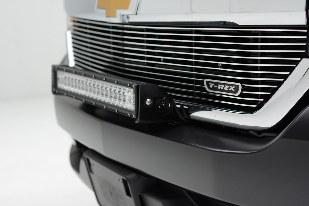 FRONT BUMPER TOP LED LIGHT BAR MOUNT KIT W/30 INCH LED LIGHT BAR INCLUDES UNIVERSAL WIRING HARNESS