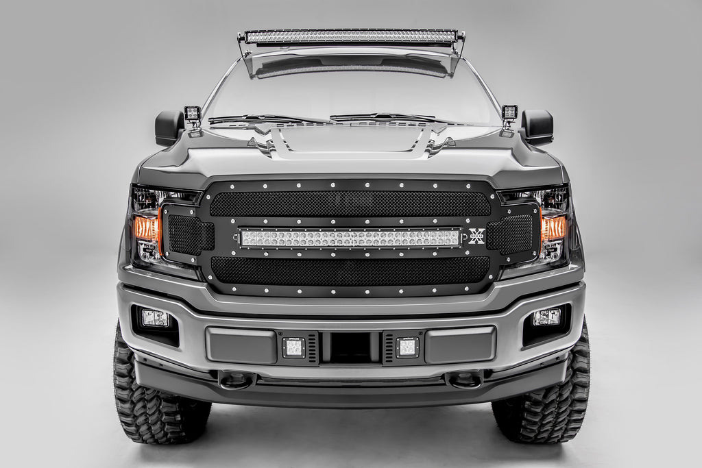 ZROADZ Z325711-KIT LOWER BUMPER MOUNTING KIT 2018 F-150 W/ (2) 3 INCH LED LIGHT BAR AND WIRE HARNESS