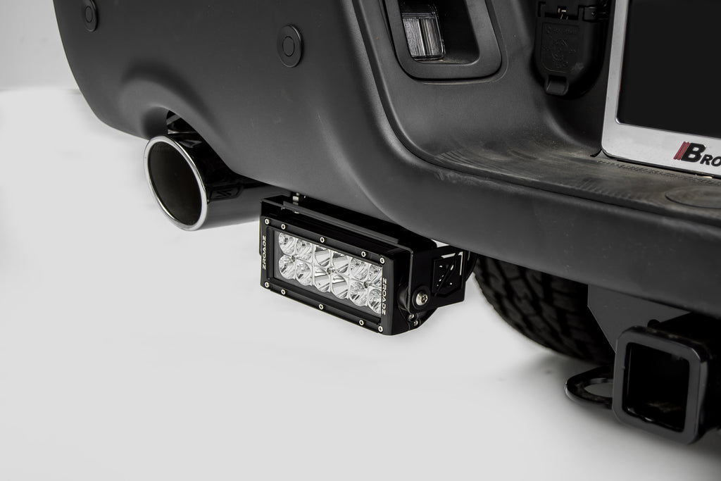 REAR BUMPER LED LIGHT BAR KIT 2015-2018 RAM 1500 REBEL INCLUDES (2) 6 INCH LIGHT BARS ZROADZ