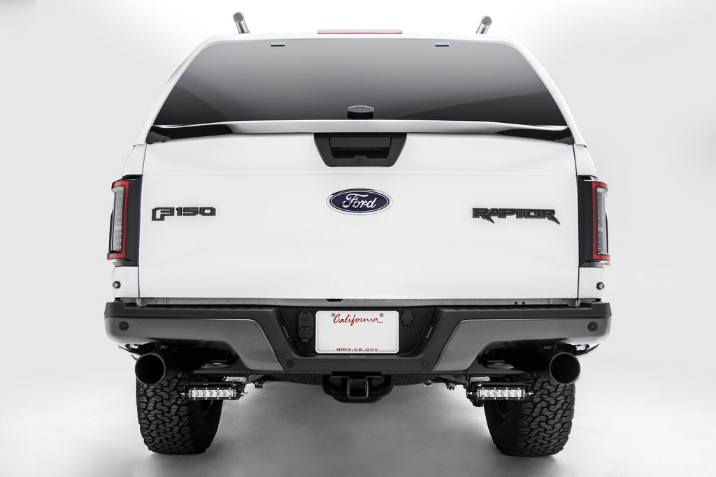 ZROADZ Z385662-KIT REAR FRAME / BUMPER MOUNTING KIT 2017-2018 FORD F-150 RAPTOR & 2018-2019 F-150 W/ TWO 6 INCH LED LIGHT BARS, UNIVERSAL WIRE HARNESS - BOLT ON EASY INSTALL