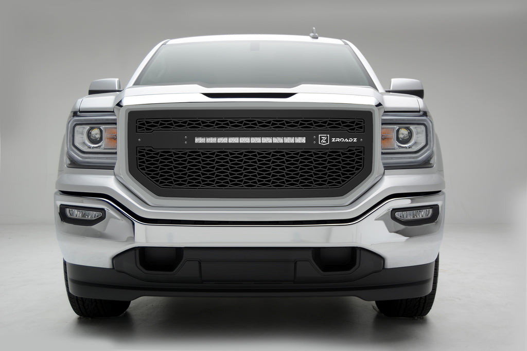 "ZROADZ SERIES GRILLE INSERT - Z312131 - 20"" LED FOR 2016-2018 GMC SIERRA 1500"