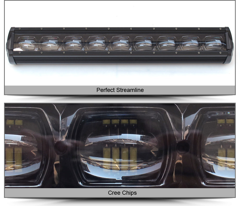 "6D | 46"" Single Row LED Light Bar"