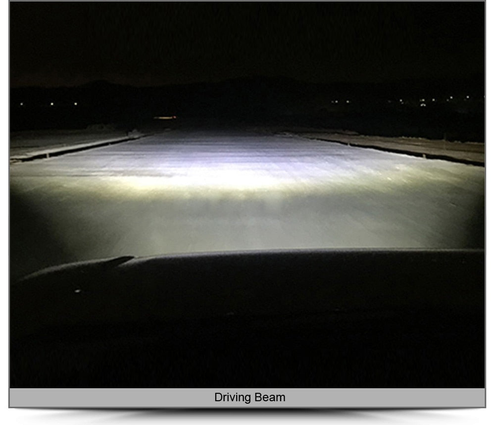 "6D | 53"" Single Row LED Light Bar (240W)"