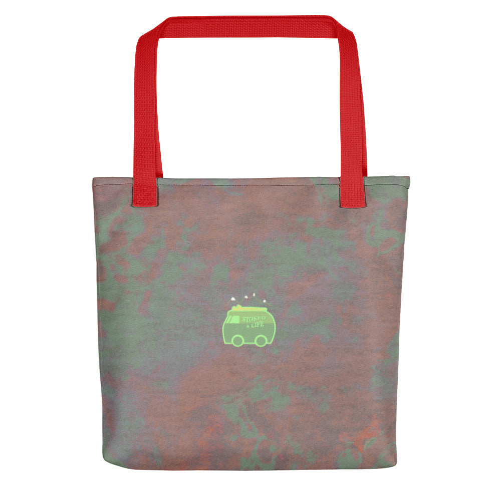 Stoked Goods Cherry Bomb Tote bag