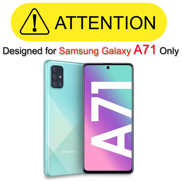 Samsung Galaxy A71 (Not fit 5G) Case, COVRWARE [Tri Series] with Built-in [Screen Protector] Triple Layers Heavy Duty Full-Body Protective Armor Holster Cove