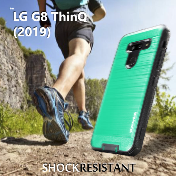 LG G8 ThinQ Case COVRWARE [Aegis Series] Cover [Built-in Screen Protector] Heavy Duty Full-Body Rugged Holster Armor Case [Belt Clip][Kickstand]