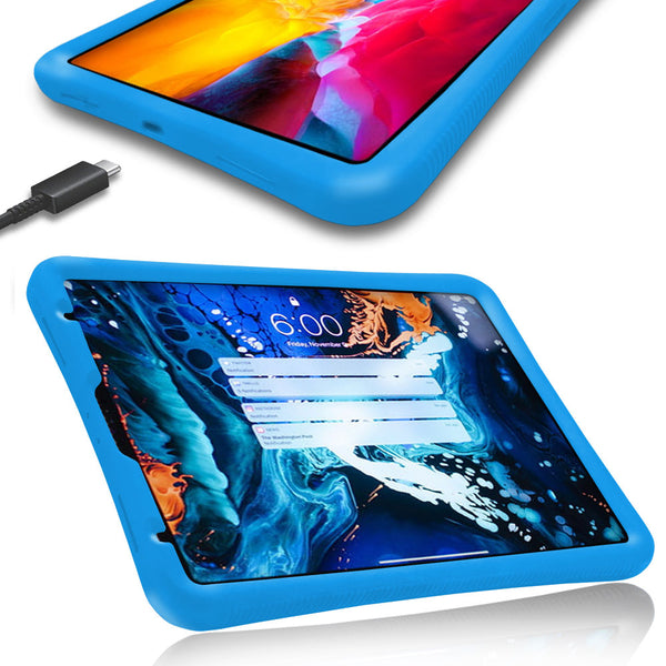 COVRWARE Case for The Apple iPad Pro 11 (2020) Tablet for Kids & Adult Rugged, Shock Absorbing, Drop Protection with Anti Blue Light, UV Tempered Glass Screen Protector