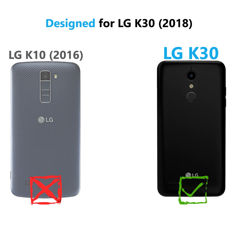 2-Pack Tempered Glass Screen Protector for LG K30 / LG Premier Pro LTE/LG  Harmony 2 Tempered Glass Film [Case Friendly]