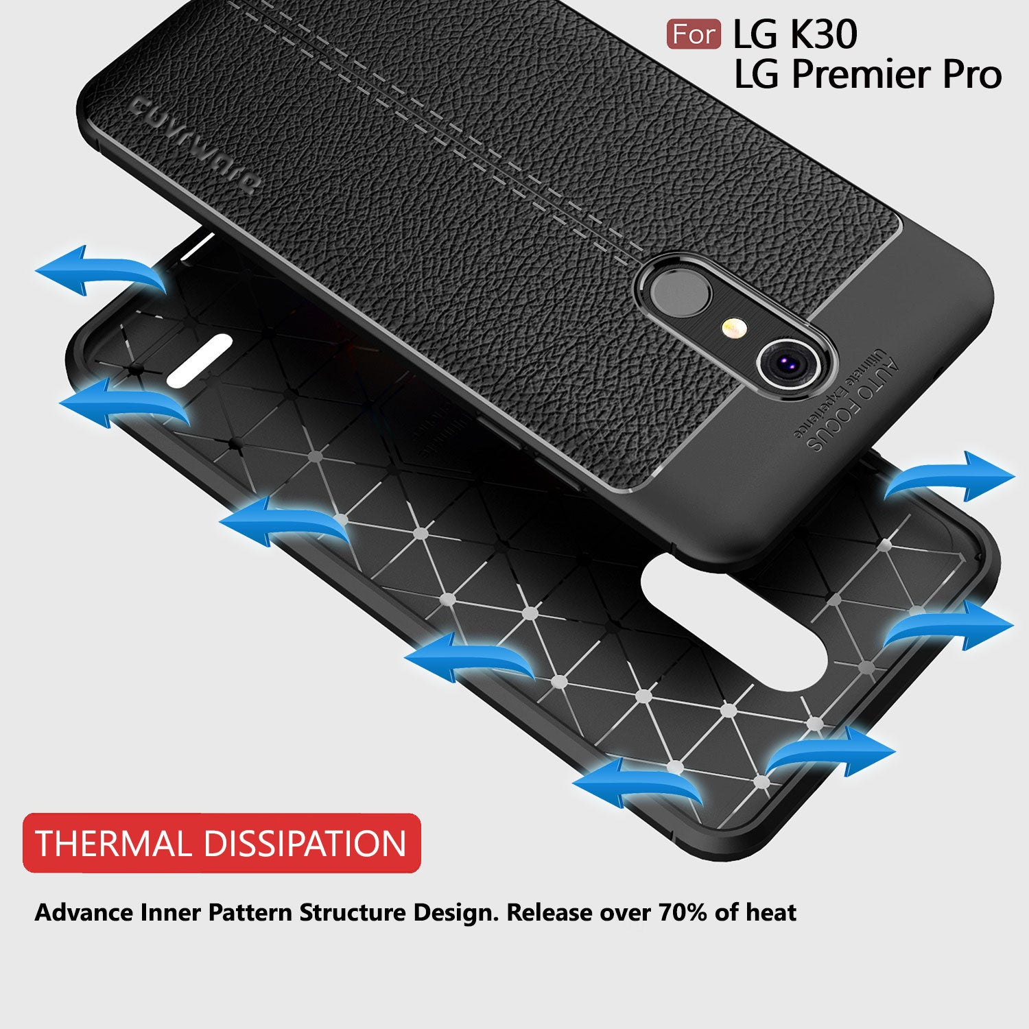 Case with [Full Coverage 3D Tempered Glass Screen Protector]