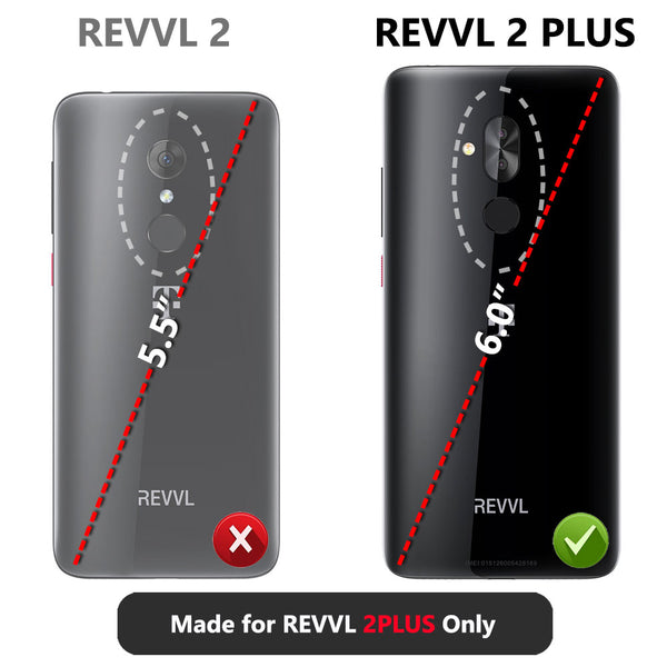 [2 Pack] T-Mobile Revvl 2 Plus 6.0