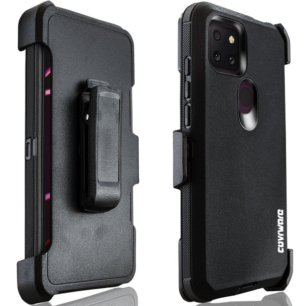 T-Mobile Revvl 5G Tri Series Case with Tempered Glass Screen Protector