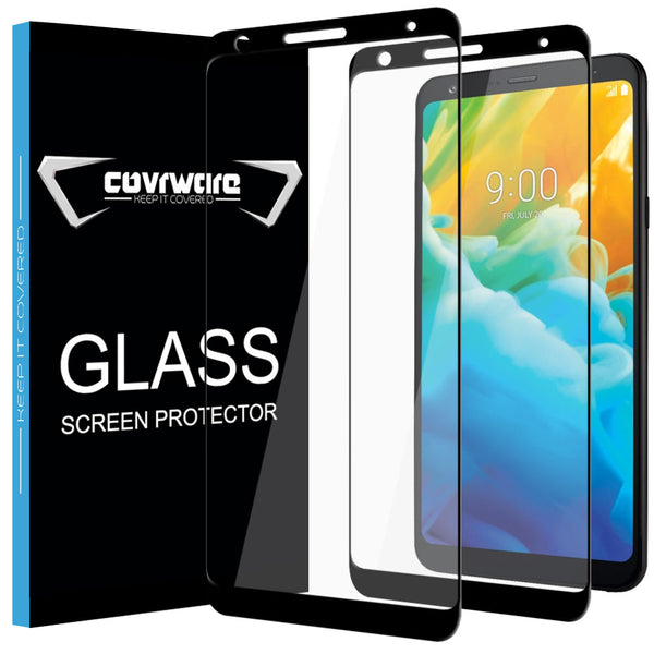 2-Pack Tempered Glass Screen Protector for LG Stylo 4 / LG Stylo 4 Plus Tempered Glass Film [Case Friendly]