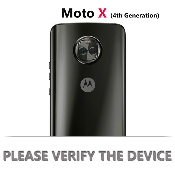 Moto X4 [IRON TANK Series] Brushed Metal Texture Holster Case with Built-in Screen Protector [Kickstand]