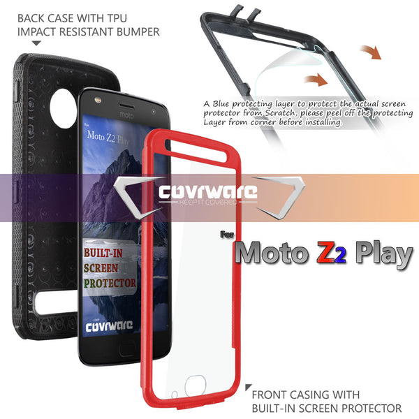 Moto Z2 PLAY / Z2 Force Aegis Series Holster Case