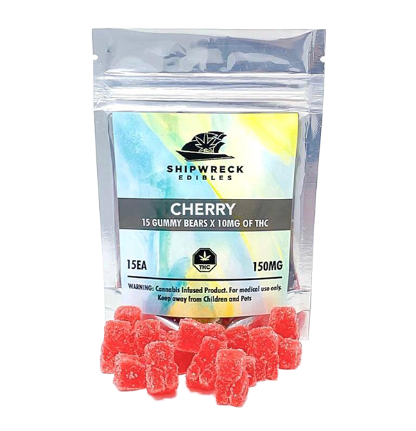 THC Gummy Bears - Cherry