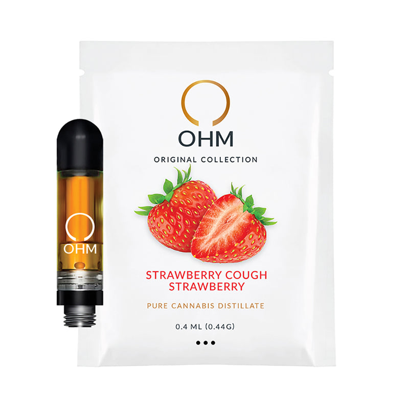 Strawberry Cough, SC, Strawberry, Version 2.0 OHm Cartridge