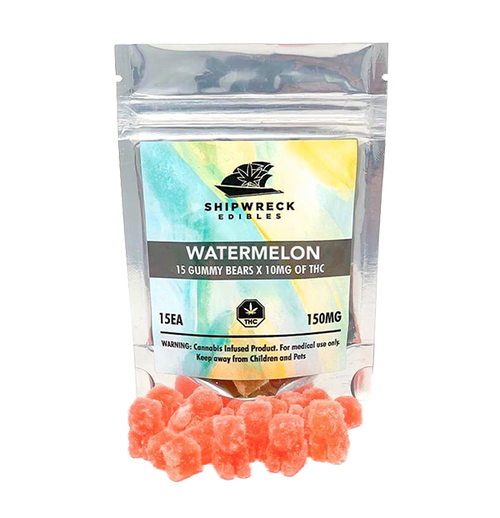 THC Gummy Bears - Watermelon