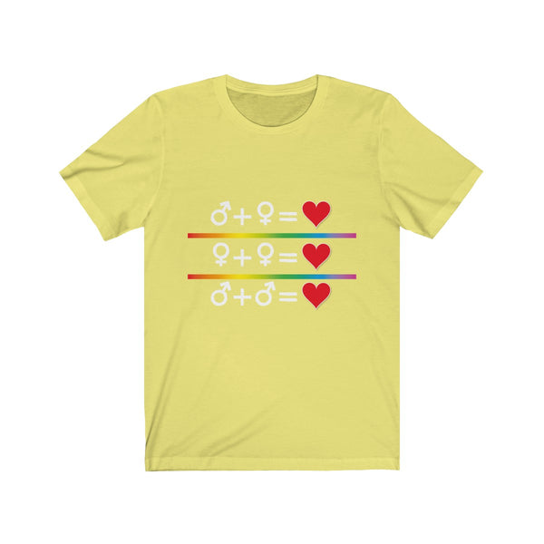 Love is Love Short Sleeve Tee