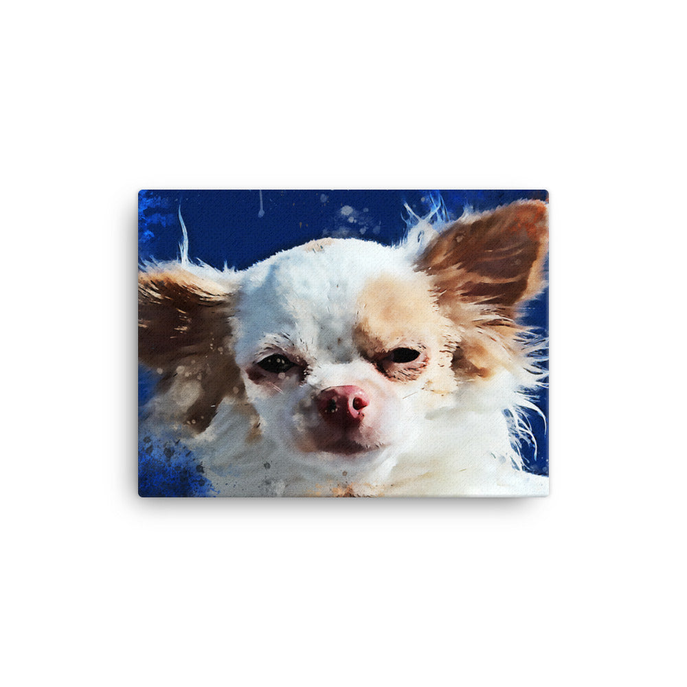 Chihuahua Wall Canvas Print