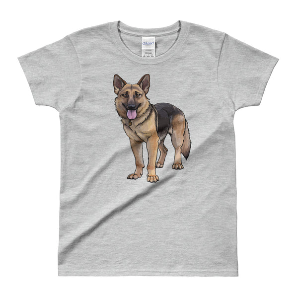 Ladies German Shepherd T-shirt