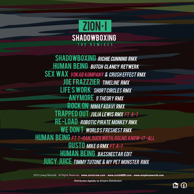 ShadowBoxing- The Remixes (Download)