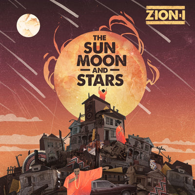 The Sun Moon and Stars EP (CD)