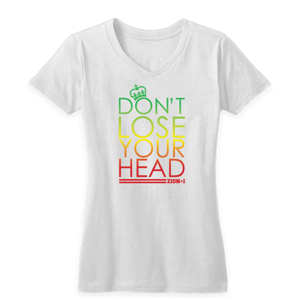 Don't Lose Your Head Women's V