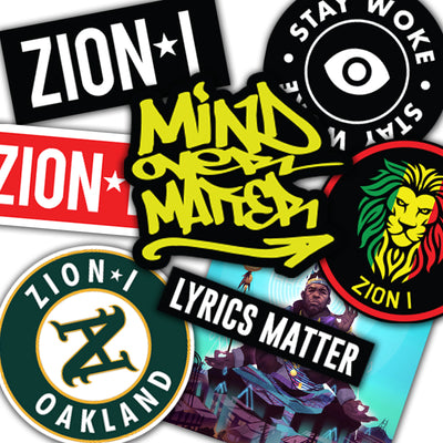 Zion I Sticker Set